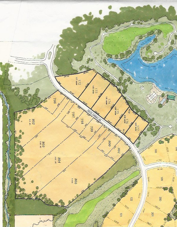 Heron Point Lot Plan